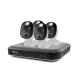 Swann 8 Channel Security System: 4K Ultra HD DVR-5580 with 2TB HDD & 4 x 4K Thermal Sensing Cameras SWPRO-4KWLB