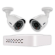 Uniden 4 Channel D1 CCTV System with 2 x Bullet Cameras 500GB HDD