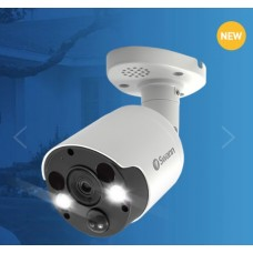 Swann SWNHD-887MSFB Spotlight 4K UHD Outdoor Network Bullet Camera with Two Way Audio